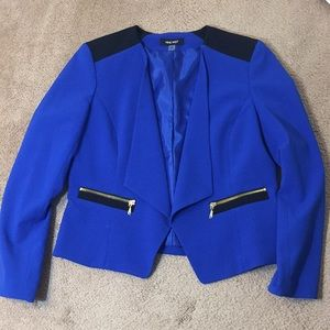 Nine West Blue & Black Blazer